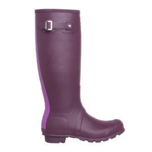 💜🌧Hunter Plum/Purple Rainboots